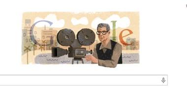 """""""جوجل"""" يحتفل بالذكرى الـ89 لميلاد المخرج العالمى""""يوسف شاهين"""""""