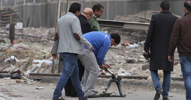 بالفيديو.. لحظة تفجير قنبلة بالقرب من قسم المطرية