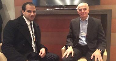 وزير التجارة يبحث مع رئيس مجلس الأعمال المصرى الايطالى تعزيز التعاون