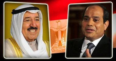الرئيس السيسي يهنئ دولة الكويت بالعيد الوطنى