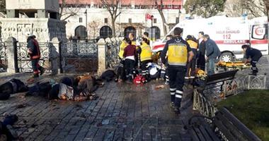 إصابات كثيرة فى هجوم بسيارة ملغومة على قوات الشرطة التركية