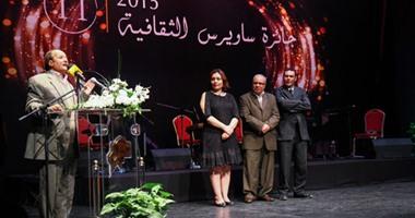 """حصول رواية """"شرق الدائرى"""" و""""النحات"""" على المركز الأول بجائزة ساويرس الثقافية"""