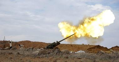 المرصد: الجيش السورى يجدد قصفه على مناطق خاضعة لداعش جنوب دمشق