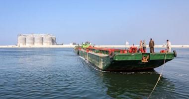 ميناء دمياط يستقبل 9 سفن متنوعة خلال 24 ساعة