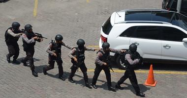 مقتل متشدد هاجم أفراد الشرطة الإندونيسية