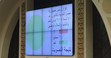 البرلمان يوافق على قرار الرئيس بشأن العلم والنشيد والسلام الوطنيين
