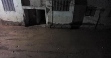 صحافة المواطن: بالصور: مياه الصرف الصحى تهدد عقارات مساكن السلخانة بالشرقية