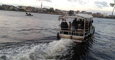 شرطة النقل تكثف حملاتها التفتيشية على المعديات النيلية بعد حادث كفر الشيخ