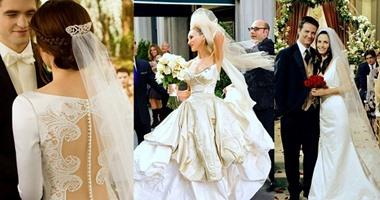 da9893a01 عروسة من وحى السينما .. 5 فساتين زفاف من السينما استوحى منهم فستانك ...