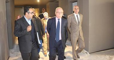 وزير الثقافة يتفقد متحفى جمال عبد الناصر وقيادة الثورة