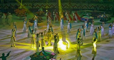 بالفيديو.. الحضارة الفرعونية تطغى على حفل افتتاح بطولة أفريقيا لليد