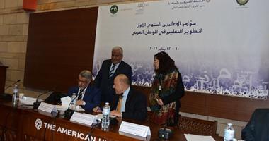 الجامعة الأمريكية توقع اتفاقية شراكة مع المنظمة العربية للتربية والثقافة