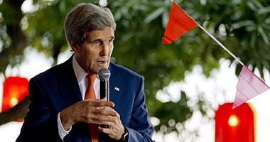 وزير الخارجية الأمريكى: التحالف يحقق تقدما فى سوريا والعراق