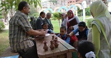"""""""هؤلاء أثروا فى حياتنا"""" احتفالية بالحديقة الثقافية للأطفال بالسيدة زينب"""