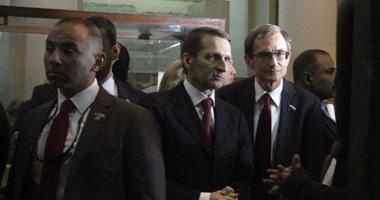 بالصور.. وصول وزير الآثار إلى المتحف المصرى لاستقبال رئيس البرلمان الروسى