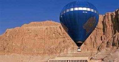 إقلاع 13 رحلة بالون تقل 279 سائحا مصريا وأجنبيا فى أعياد شم النسيم بالأقصر