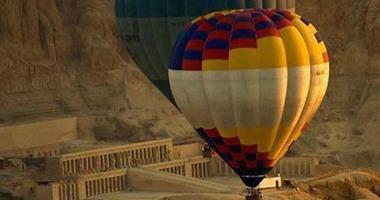 رحلات البالون الطائر فى الأقصر.. ثلاثون عاما من التميز السياحى