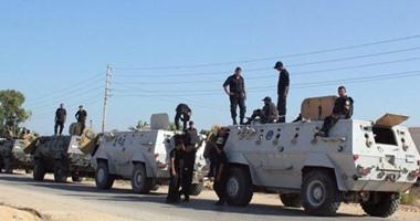 ضبط مطلوب فى قضية قتل و28 هاربا من تنفيذ أحكام بشمال سيناء