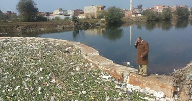 البيئة: إغلاق محطة مياه بمنطقة نفوق الحمير ببحر شبين فى الدقهلية