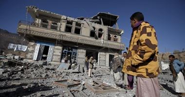 أخبار اليمن.. طائرات التحالف تقصف معسكرى النهدين والصباحة فى صنعاء