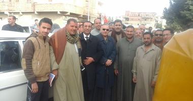 الشيخ علاء حسنين يزور قرية الشرقاية