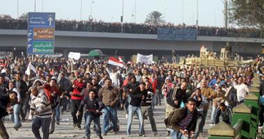 صور اشتباكات مؤيدى ومعارضى مبارك مشاهده اشتباكات مؤيدى ومعارضى مبارك