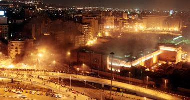 دروع بشرية لحماية المتحف المصرى
