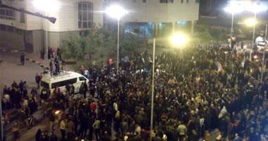 متظاهرون بورسعيد يطالبون بمحاكمة وزير