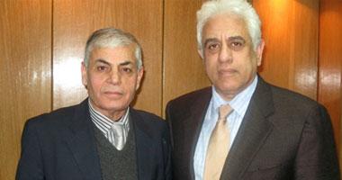 عضو بالمجلس الوطنى السورى يلتقى الدكتور حسام بدراوى بالقاهرة