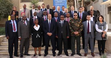 وفد من عسكريين ومسئولين أفارقة فى ضيافة مركز تحديث الصناعة المصرى