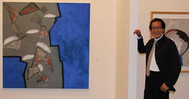 معرض لأعمال الفنان فاروق حسنى بالرياض