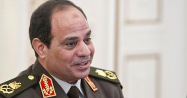 """مفاجأة.. المشير السيسى وزيرا للدفاع فى حكومة """"إبراهيم محلب"""" الجديدة"""