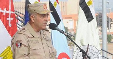 الفريق محمود حجازى رئيس أركان حرب القوات المسلحة