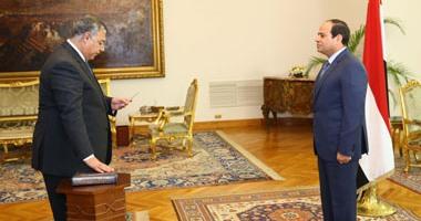 الرئيس السيسى يكلف خالد محمود فوزى بأعمال رئيس المخابرات العامة