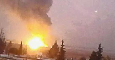 للمرة الثالثة.. طائرات مجهولة تقصف الجيش التركى شمال سوريا