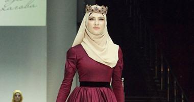 cad2f39564833 بالصور.. شاهد جمال ملابس الفتيات المسلمات خلال أسبوع الموضة الإسلامى فى  الشيشان