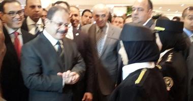 """وزير الداخلية يطالب البرلمان بسرعه إصدار قانون """"الجرائم الإلكترونية"""""""