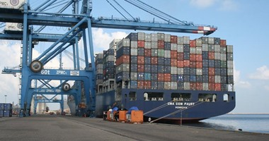 ميناء دمياط يستقبل 7 سفن حاويات وبضائع عامة خلال 24 ساعة