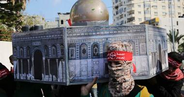 بالصور.. الجبهة الشعبية بفلسطين تنظم مسيرة حاشدة بغزة فى ذكرى انطلاقتها الـ48