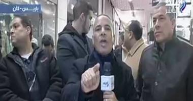 بالفيديو.. العشرات من الجالية المصرية يؤمنون أحمد موسى خلال برنامجه  على مسئوليتى