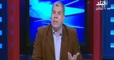 شوبير منفعلاً على عادل هيكل:  لو هتشوه تاريخ الأهلى يبقى متلزمنيش