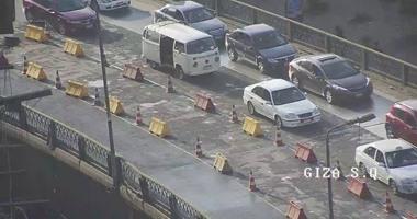 المرور يغلق كوبرى الجيزة المعدنى جزئيا لمدة 4 أيام بسبب أعمال تطوير