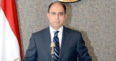 المستشار أحمد أبو زيد المتحدث الرسمى باسم وزارة الخارجية