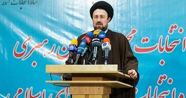 السلطات الإيرانية تحظر حفيد الخمينى من الترشح فى الانتخابات المقبلة
