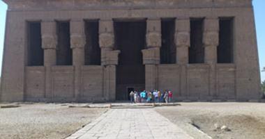"""""""الآثار"""" ترمم معبد دندرة.. تعرف على موعد افتتاحه"""