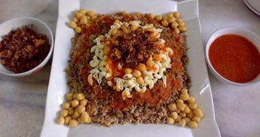 6 أكلات لازم تدوقهم لو زرت مصر أهمها الكشرى والطعمية والممبار اليوم السابع