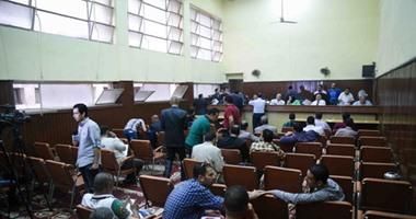 اليوم..استكمال مرافعة الدفاع فى إعادة محاكمة مرسى و23 آخرين بالتخابر مع حماس