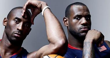"""الملك ليبرون جيمس يتفوق على كوبى براينت بسباق أفضل لاعب """"NBA"""" فى 2015"""