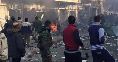 انفجار فى سوريا - أرشيفية