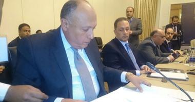 """مصر والسودان وإثيوبيا يوقعون """"وثيقة الخرطوم"""" لحل خلافات سد النهضة"""